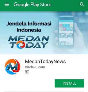 Medan today aplikasi - medan today