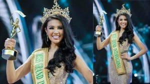 Ariska Putri Pertiwi, Anak Medan pemenang kontes kecantikan Miss Grand International 2016 di Las Vegas. mtd/internet
