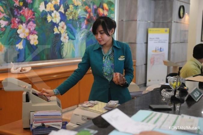 Susasana Bank Bukopin di Jakarta. KONTAN/Muradi/2017/01/19