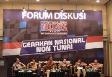 Forum diskusi gerakan non tunai. Jelang elektronifikasi, kesiapan BPJT 91% (27/10).