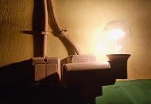 Lampu listrik warga. (KOMPAS.com/SRI LESTARI)