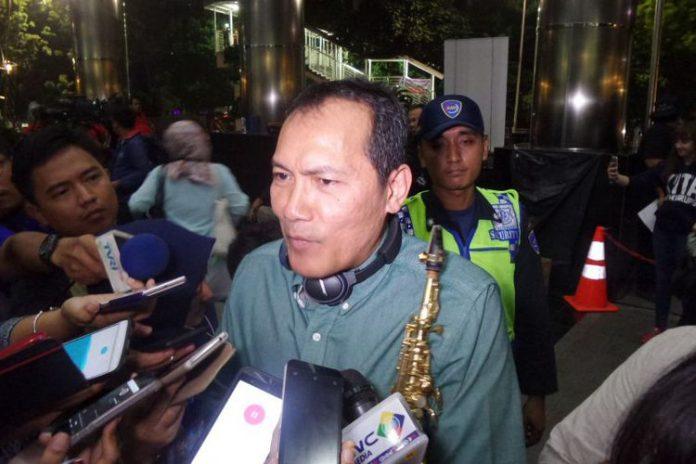 Wakil Ketua KPK Saut Situmorang di Gedung KPK Jakarta, Jumat (14/7/2017).(KOMPAS.com/ABBA GABRILLIN)