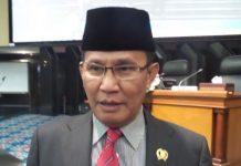 Ketua Fraksi PDI Perjuangan DPRD DKI Jakarta, Jhonny Simanjuntak(Alsadad Rudi)