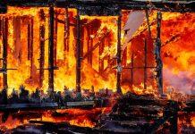 Kebakaran.(Thinkstock)