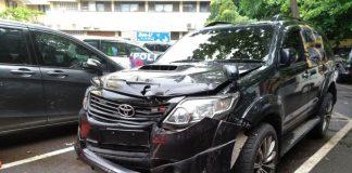 Tim dari Toyota mulai lakukan investigasi Fortuner yang bawa Setnov(Stanly)