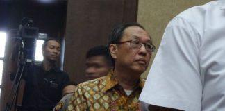 Made Oka Masagung saat bersaksi di Pengadilan Tipikor Jakarta, Senin (13/11/2017).(KOMPAS.com/ABBA GABRILLIN)
