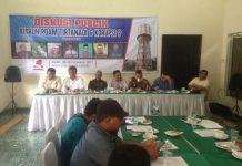 Diskusi Publik, Mengenai Kisruh PDAM Tirtanadi dan Korupsi. (Foto/ist)