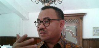 Mantan Menteri Energi dan Sumber Daya Mineral (ESDM) Sudirman Said di Solo, Jawa Tengah, Sabtu (25/11/2017).(KOMPAS.com/Labib Zamani)