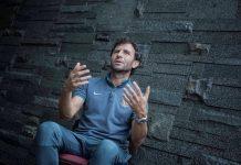 Pelatih tim nasional Indonesia, Luis Milla. (Herka Yanis/JUARA.net)